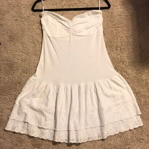 Express short strapless dress/cover up. Size  M